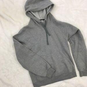 Vintage 90s Gray Pullover Hoodie